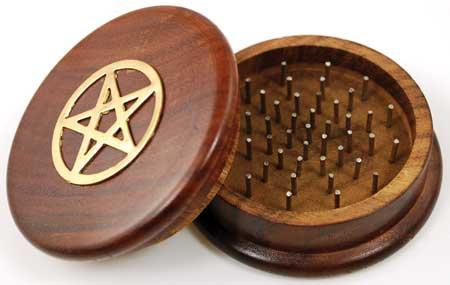 Pentagram Herb Grinder