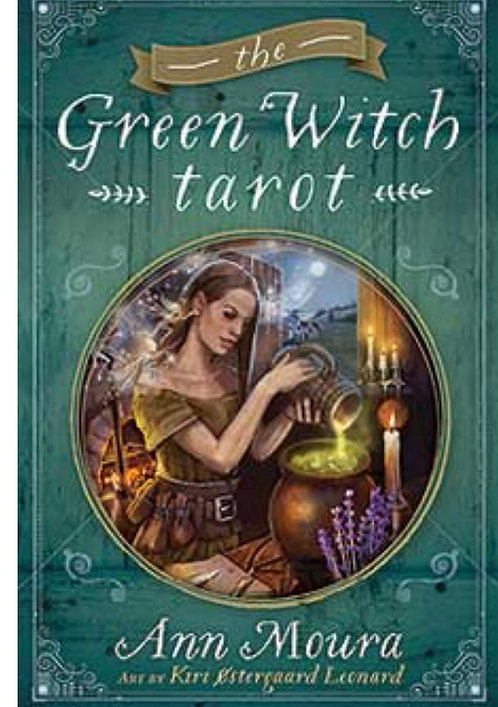 Green Witch Tarot with Guide