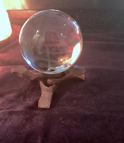 80 mm Clear Crystal Ball