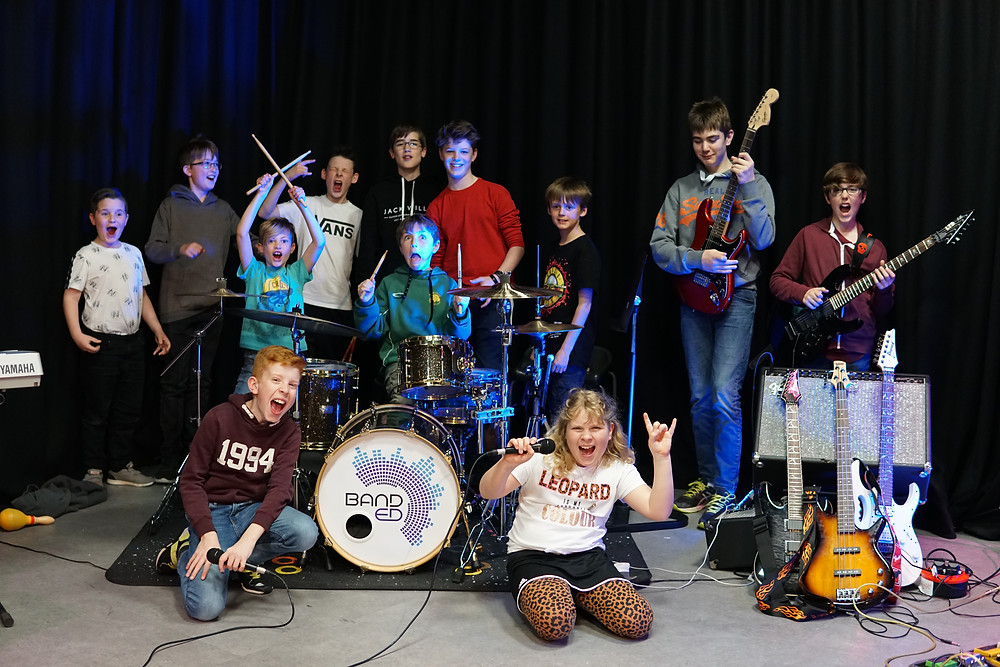 band youth children music rock band rockschool pop musicians young rock education farnham surrey holiday course