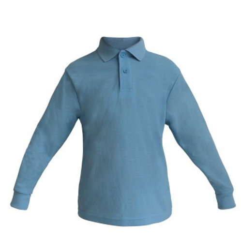Poloshirt langarm