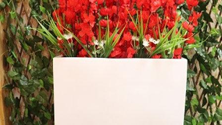 FRP Planter Red