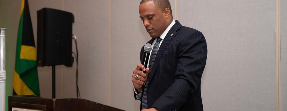 Mr. Gerald Hector, 2019 Keynote speaker