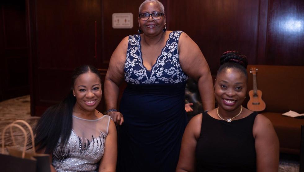 Our hostesses