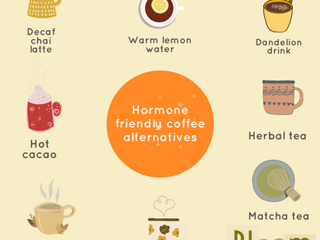 Hormone-friendly alternatives to coffee!