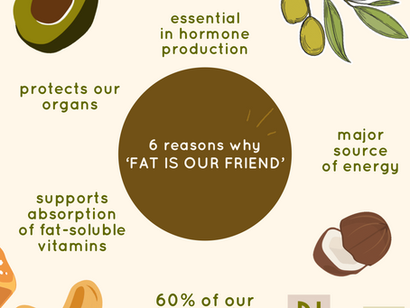 6 reasons why 'fat is our friend'