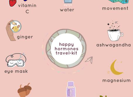 HAPPY HORMONES TRAVEL-KIT!
