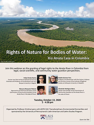 Rights of nature for bodies of water - Kristina Lyons