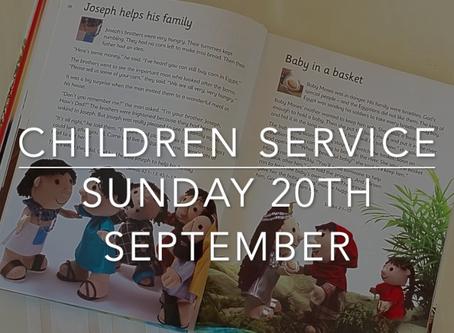 Sunday 20th September