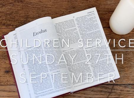 Sunday 27th September