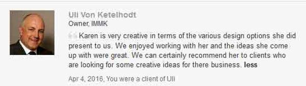 LinkedIn feedback