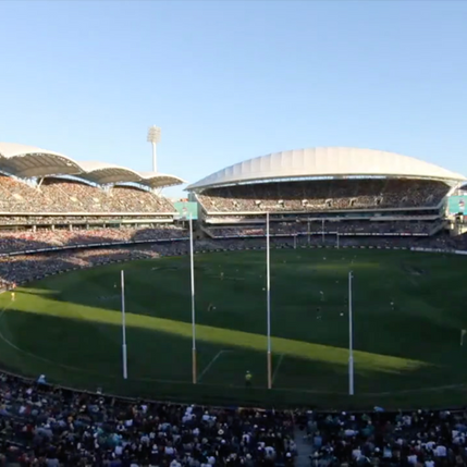 Timelapse at Adelaide Oval