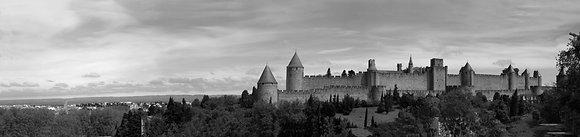 Carcassonne Castle Panoramic Pn2