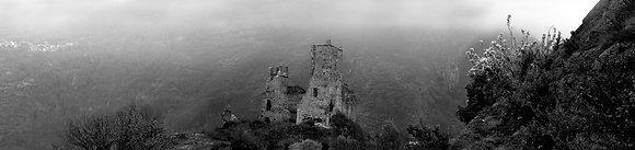 Miglos Castle Panoramic