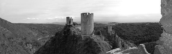 Château Lastours Panoramique
