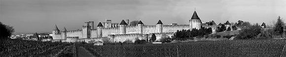 Carcassonne Castle Panoramic Pn3