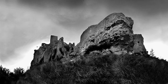 photo chateau des Baux de Provence