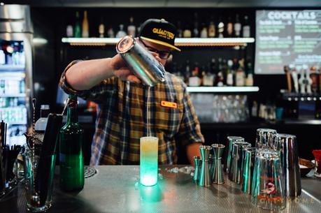 Classic cocktails. Plus glow cubes.