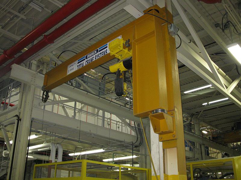 Munck Cranes Column Mounted Jib Crane