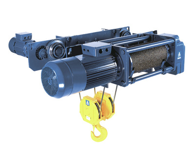 Munck Cranes monorail trolley hoist, under running trolley hoist, wire rope trolley hoist. Custom bu