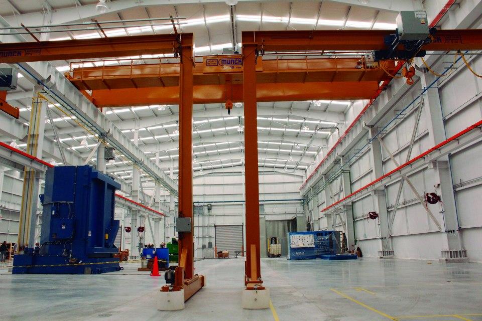 Munck Cranes dual semi-gantry cranes Crane (Click to Expand)