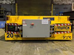 Munck Cranes Flat Deck Transfer Cart, Battery Operated, Material Handling, Material Processing