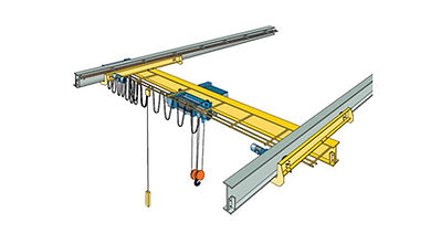 Under Running Single Girder Overhead Crane