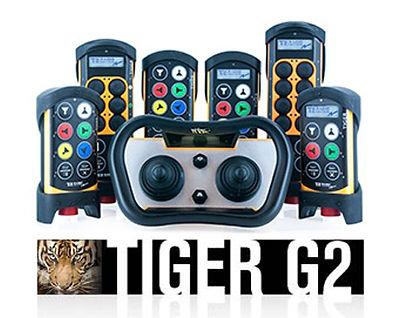 Tiger G2 Overhead Crane Remote Control