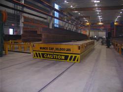 Munck Cranes Flat Deck Transfer Cart, Battery Operated, Material Handling, Material Processing, Wide