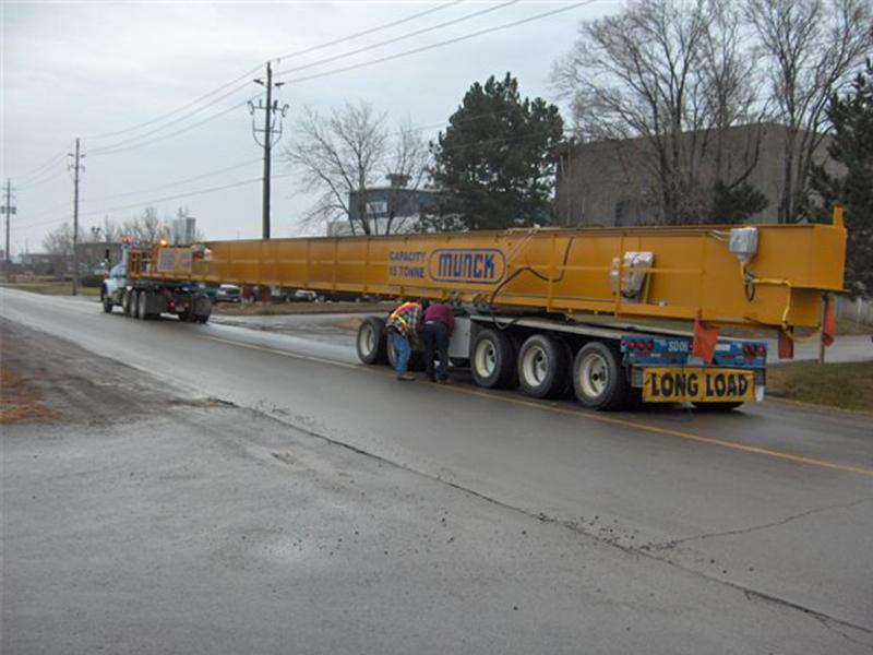 Munck Cranes Crane Delivery, Installation, Custom Design, Long Span Delivery