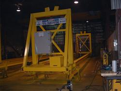 Munck Cranes Electric Transfer Cart, Specialty Design, Custom Designed.