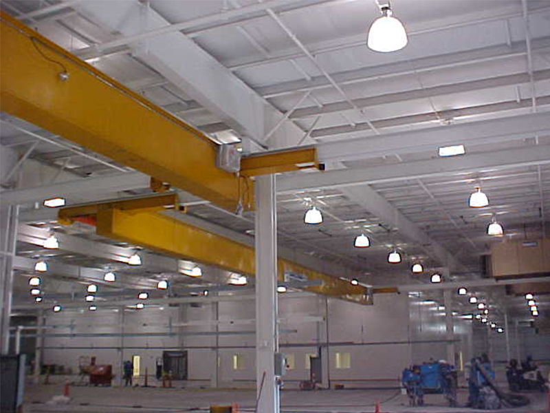 Munck Cranes Single Girder Under Running Box Girder Overhead Crane, Mill Duty Crane, Class A-F, SG U