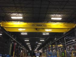 Munck Cranes indoor overhead crane runway.