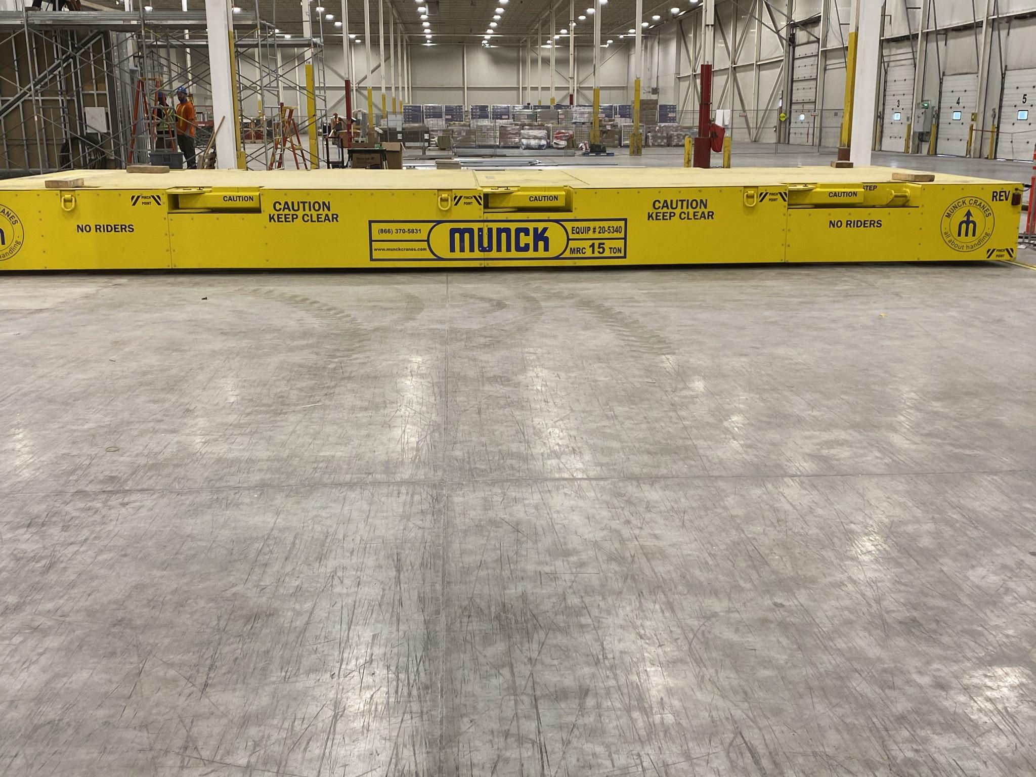 Flat Deck Transfer Cart, Battery Operated, Material Handling, Material Processing