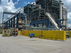 50/15 Ton crane being prepared for installation at a power plant in Puerto Rico