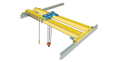 Top Running Double Girder Bridge Crane