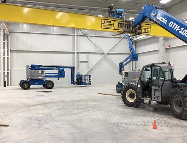 Munck Cranes Service and Support Overhead Crane Runway