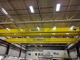 Top Running Double Girder Overhead Bridge Crane