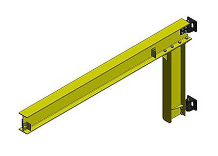 Column or wall mounted Jib Crane