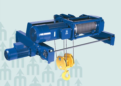 Munck Cranes Double Girder Trolley Hoist