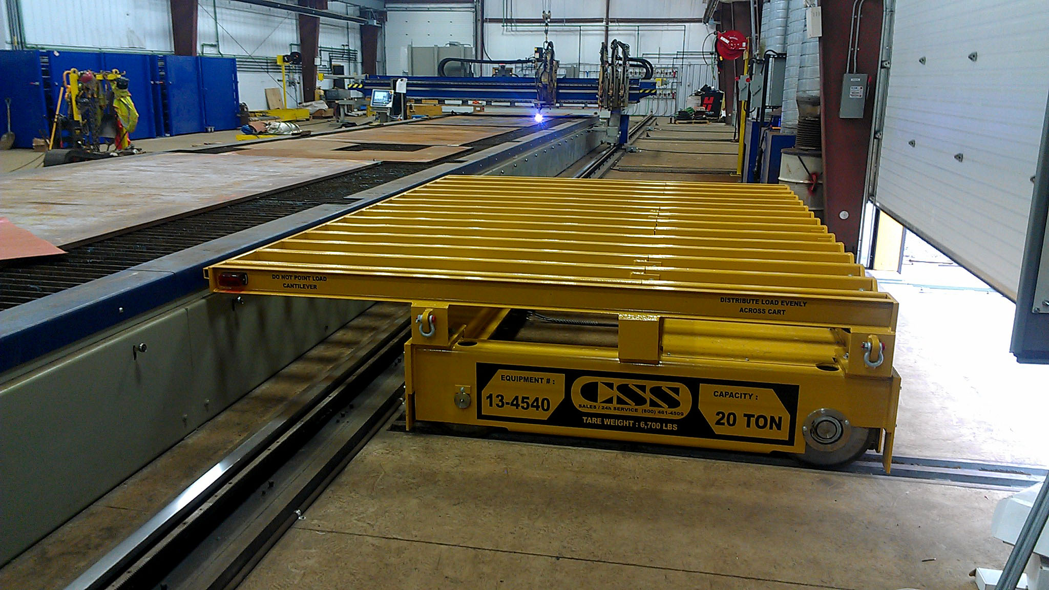 20 TON STEEL PROCESSING Transfer CART