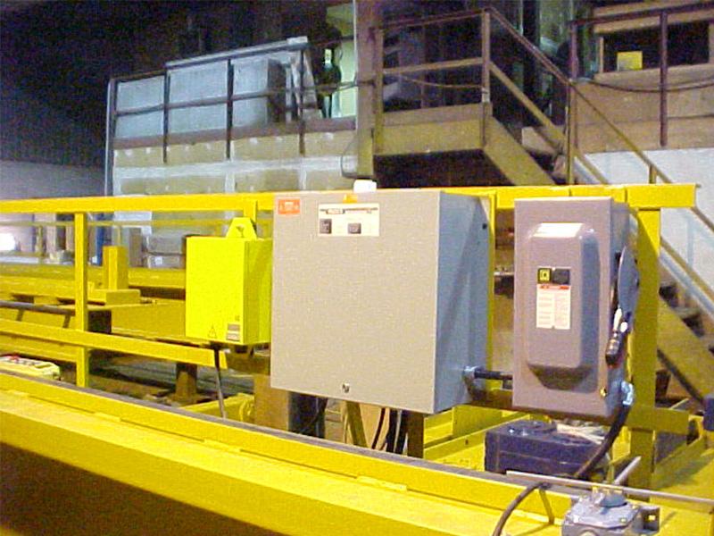 Munck Cranes Crane Electronics, Electronics, Bridge, Panel