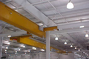 Under Running Single Girder Overhead Bridge Crane