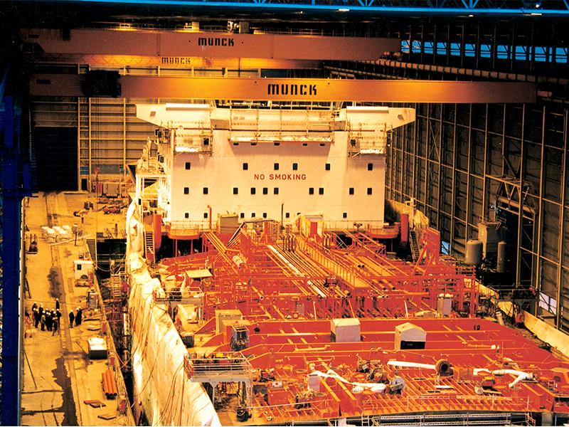 Munck Cranes Cargo Ship Overhead Crane, Port Overhead Crane, Ship Maintenance, Ship Loading, Ship Cr