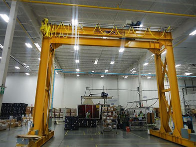 Munck Cranes Tracker Gantry Crane Overhead Crane