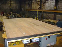 Munck Cranes Flat Deck Transfer Cart, Battery Operated.
