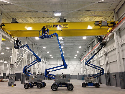 Munck Overhead Crane Inspection