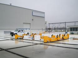 Munck Cranes Wind Tower, Wind Turbine, Material Transfer Cart, Large Material Carts.