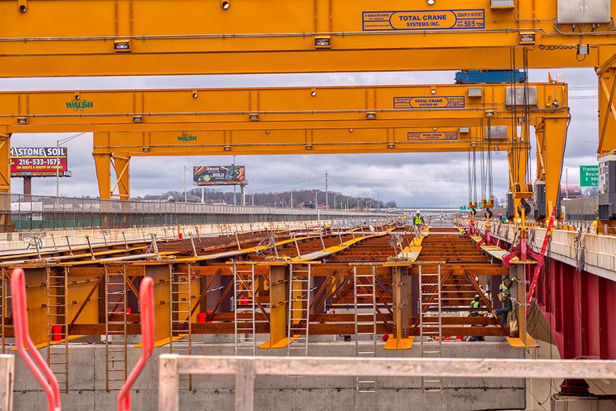 3-50 Ton Overhead Gantry Cranes