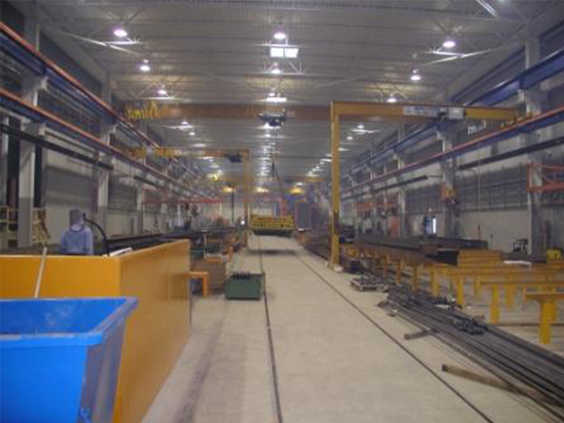 Munck Cranes Self-Supported, Free Standing Overhead Crane, Outdoor Double Girder Full Gantry Crane.